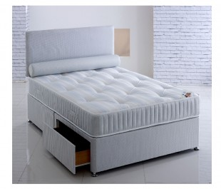 Repose Majestyk 2ft6 Small Single Ortho Divan Bed By Repose