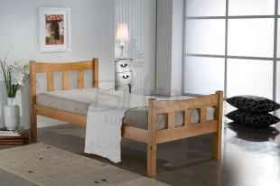 Birlea Miami 3ft Single Pine Wooden Bed Frame