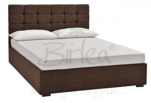 aea66573956b0a Birlea Isabella 5ft King Size Brown Upholstered Fabric Bed Frame by Birlea