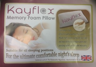 Kayflex Memory Foam Pillow