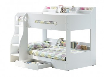 Flair Furnishings Flick White Bunk Bed