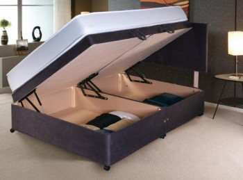 Vogue 4ft6 Double Side Lift Ottoman Bed Base (Choice Of Colours)