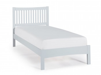Serene Mya Grey 3ft Single Wooden Bed Frame