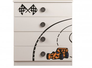 Sweet Dreams Sonic 4 Drawer Chest of Drawers