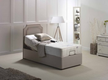 Furmanac Mibed Zelda 4ft6 Double 1200 Pocket With Memory Electric Adjustable Bed