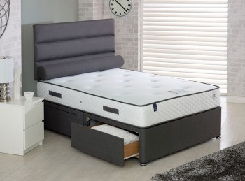 Vogue Countess 1000 Pocket And Blu Cool Memory 6ft Super Kingsize Bed