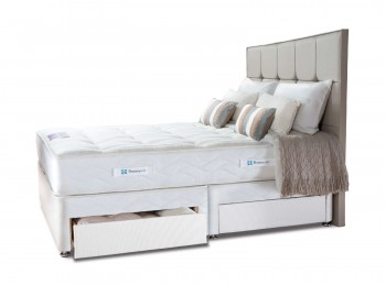 Sealy Pearl Elite 5ft Kingsize Divan Bed