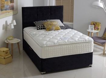 Dura Bed Supreme Comfort 4ft Small Double 2000 Pocket Springs Divan Bed