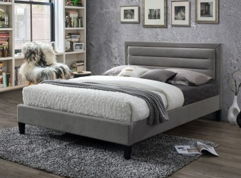 Limelight Picasso 4ft6 Double Grey Fabric Bed Frame