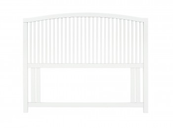 Bentley Designs Ashby White 4ft Small Double Wooden Headboard