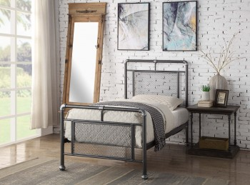 Flintshire Hope 3ft Single Metal Bed Frame
