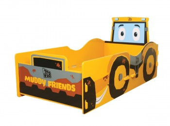 Kidsaw JCB Muddy Friends Junior Bed Frame