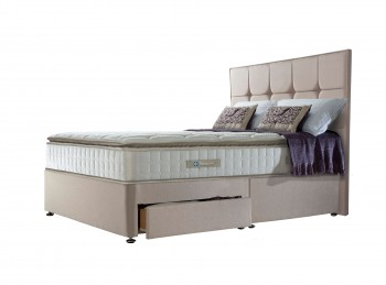 Sealy Nostromo Latex 1400 Pocket 4ft6 Double Divan Bed