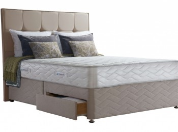 Sealy Pearl Deluxe 5ft Kingsize Divan Bed
