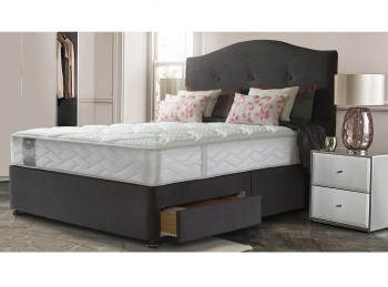 Sealy Pearl Wool 3ft6 Large Single Divan Bed