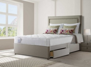 Sealy Activsleep Comfort Pocket Memory 2400 4ft6 Double Divan Bed