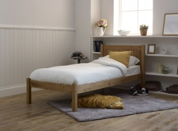Limelight Capricorn 4ft6 Double Pine Wooden Bed Frame