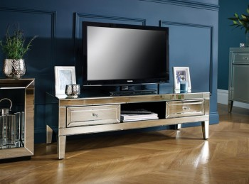 Birlea Valencia Mirrored TV Cabinet