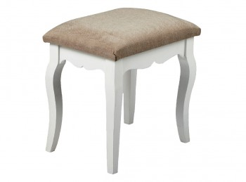 LPD Brittany Shabby Chic Style Dressing Table Stool