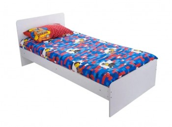 Flair Furnishings Wizard 3ft Single White Bed Frame