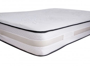 Flair Furnishings Infinity 4ft6 Double Open Coil And Memory Mattress