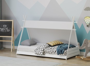 Flair Furnishings Apache Tipi Fun Bed In White