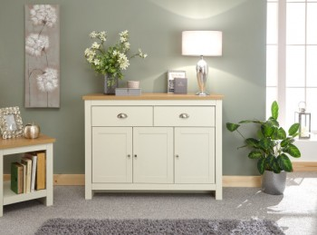 GFW Lancaster Large Sideboard in Cream