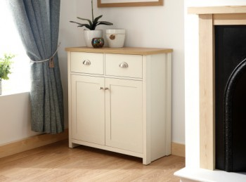 GFW Lancaster Compact Sideboard in Cream