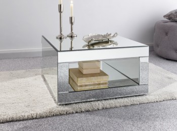 GFW Capri Coffee Table Mirrored