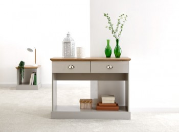 GFW Kendal Console Table Grey