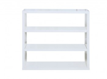 LPD Puro Bookcase In White Gloss