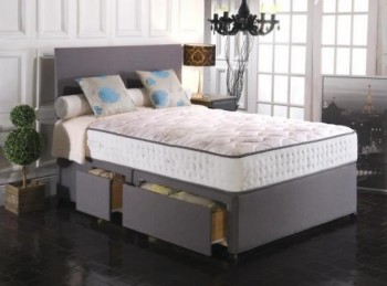 Vogue Empress 1500 Pocket And Blu Cool Memory 4ft Small Double Bed