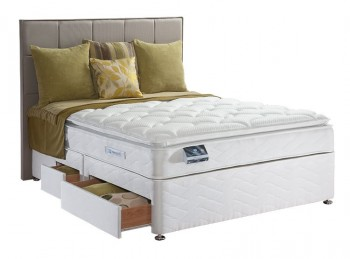 Sealy Pearl Luxury 4ft6 Double Divan Bed