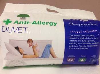 3ft Single Anti Allergy Duvet
