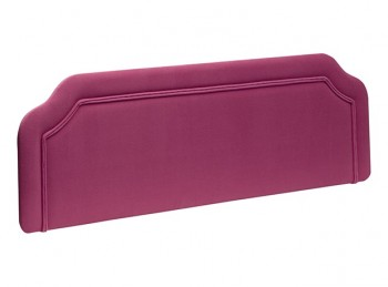 New Design Emma 5ft Kingsize Fabric Headboard (Choice Of Colours)
