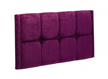 New Design Tiffany 4ft Small Double Upholstered Headboard (Choice Of Colours)