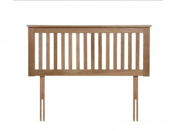 Flintshire Pentre 3ft Single Oak Finish Headboard