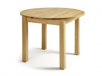 Serene Sutton Extending Oak Dining Table