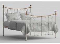 506165dfc26e6c Birlea Isabella 6ft Super King Size Grey Upholstered Fabric Ottoman ...