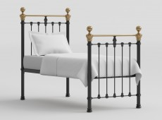 Obc Tain 6ft Super Kingsize Chrome Metal Bed Frame By