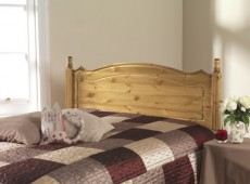 Friendship Mill Boston 5ft Kingsize Pine Wooden Headboard