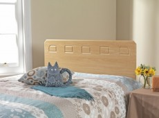 Friendship Mill Miami 2ft6 Small Single Beech Wooden Headboard