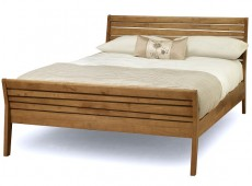 Serene Zahra Honey Oak 4ft6 Double Wooden Bed Frame
