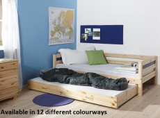 Thuka Trendy 8 Wooden Guest Bed (Choice Of Colours)