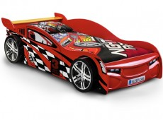 Julian Bowen Scorpion Racer Red 3ft Single Car Bed Frame
