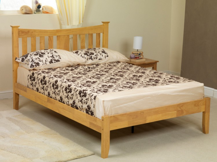 sweet dreams kingfisher 3ft single oak wooden bed frame. Black Bedroom Furniture Sets. Home Design Ideas