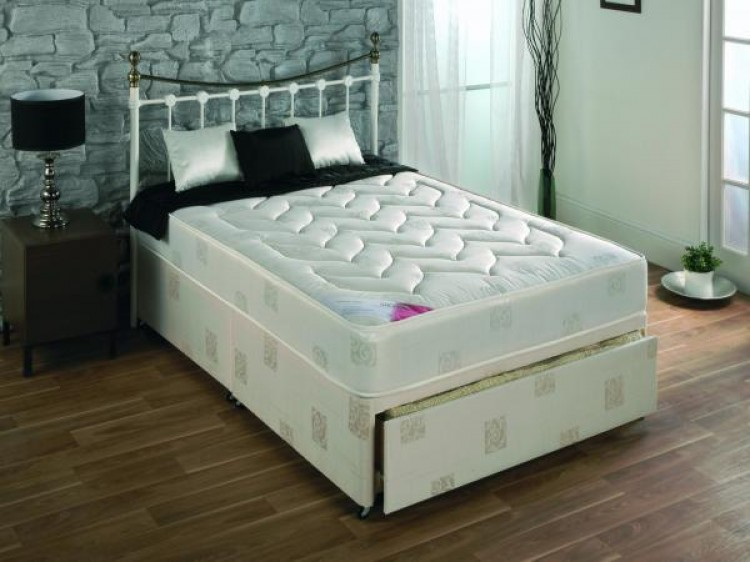 Repose Orthorest 4ft6 Double Divan Bed By Repose