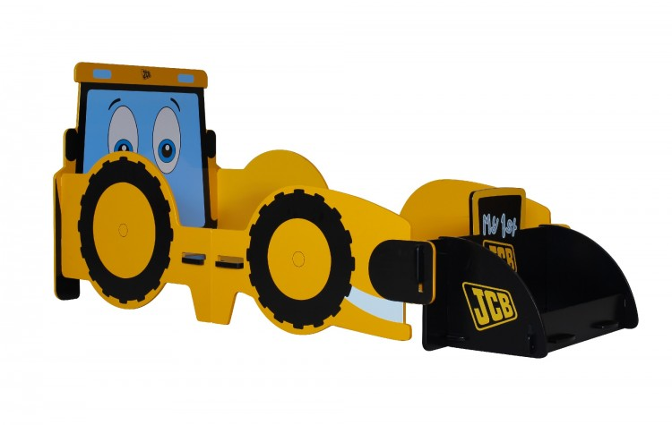 Kidsaw JCB Digger Junior First Fun Fun Bed Frame