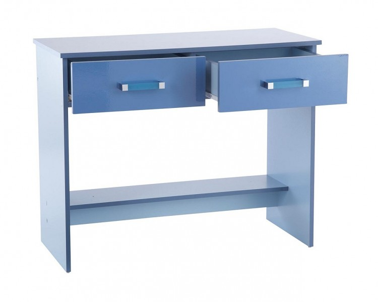 blue kitchen cabinets gfw ottawa 2 tones gloss blue study desk by gfw 12488