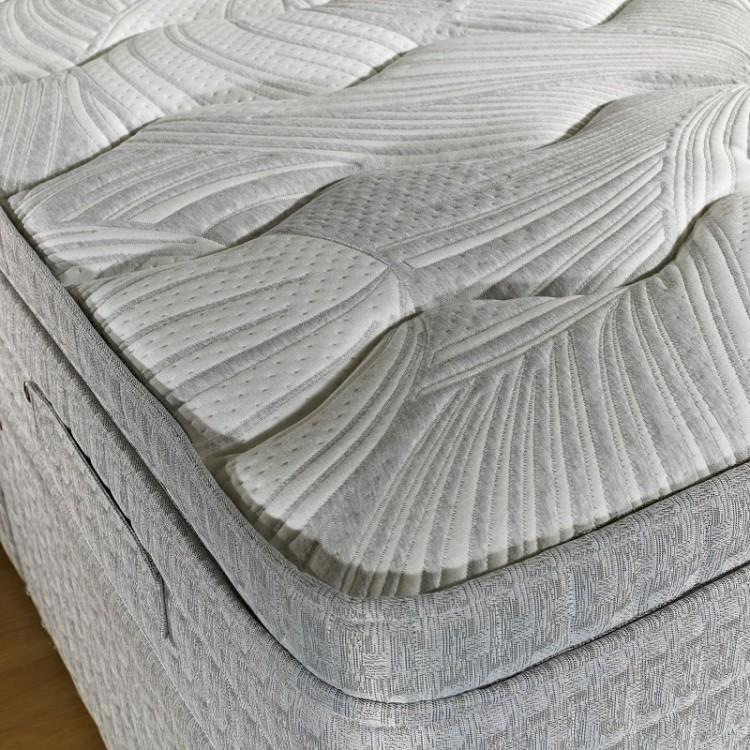 Dura bed savoy 2ft6 small single mattress 1000 pocket for Single divan bed with pocket sprung mattress